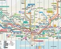 Cartina Metro Barcellona.Mappa Di Barcellona